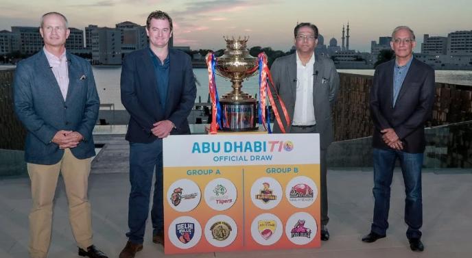 Abu Dhabi T10 league complete squads