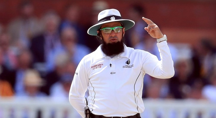 Aleem Dar to officiate 1st Test match in Pakistan