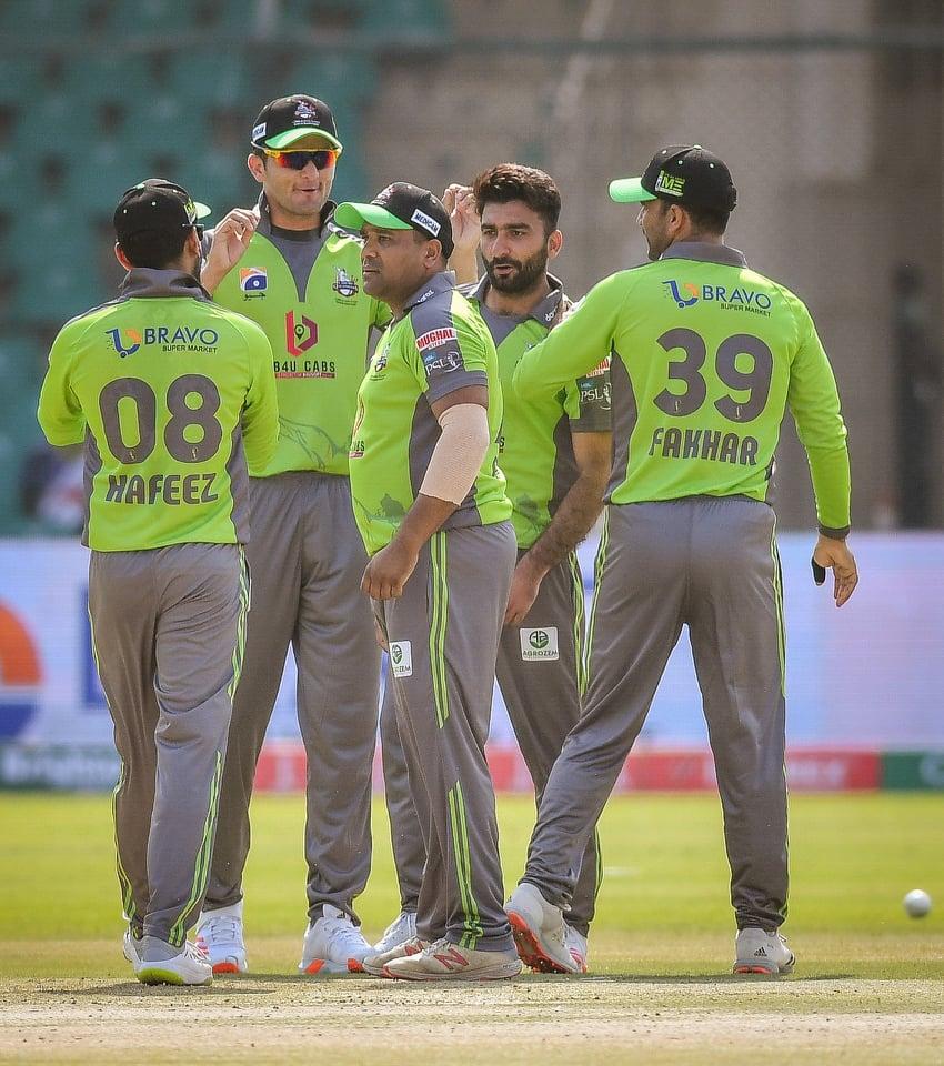 A dedeication for Salman Mirza on Qalandar's victory
