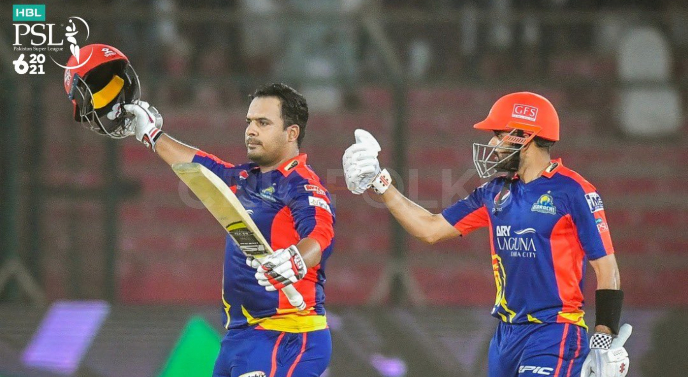 Babar and Sharjeel contributes to the highest PSL partnership 1