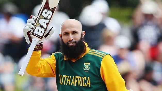 Hashim Amla of South Africa celebrates after scoring a century3
