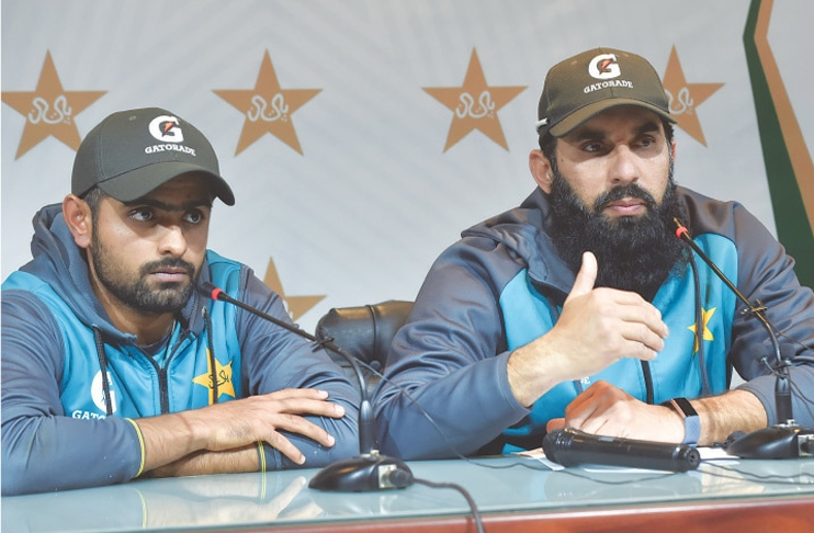 Misbah ul Haq confident that Babar Azam is ready for captaincy challenge