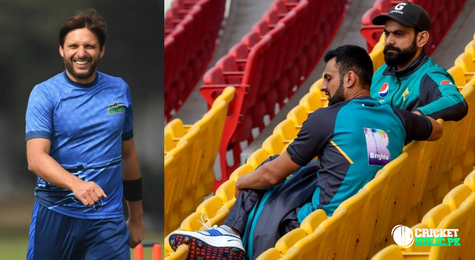 Need Malik and Hafeez in the T20 World Cup, says Afridi